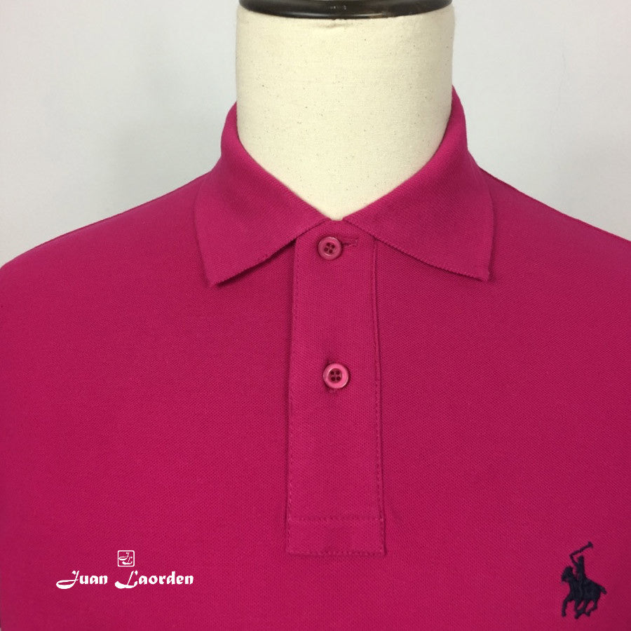 POLO BASICO ALGODÓN | REGULAR CASUAL FUCSIA