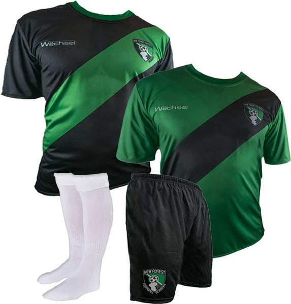 2017/18 New Forest Football Academy Kit (Reversible) + Socks