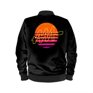 LIMITED EDITION: Mens Sunset 4050 Bomber Jacket - Audio Architect Apparel