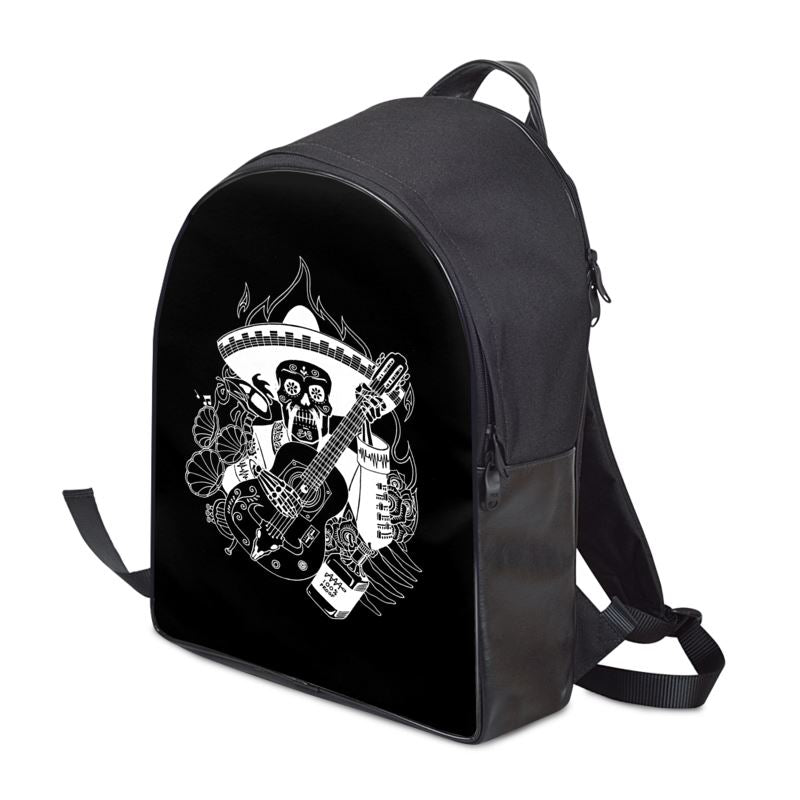 Día de Muertos Leather Backpack - Audio Architect Apparel