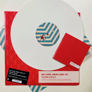 Young Adult LP on WHITE Vinyl | Audio Architect Apparel