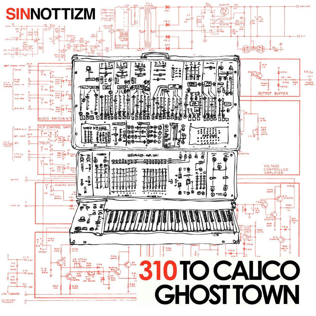 310 to Calico Ghost Town | Audio Architect Apparel