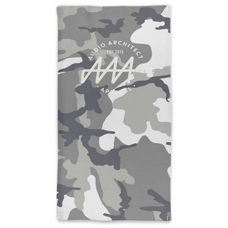 Camo Face Covering (Neck Tube) - Audio Architect Apparel