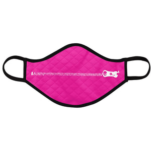Zip-it Up & Growler Reusable Washable Facemasks (2 pk) - Audio Architect Apparel