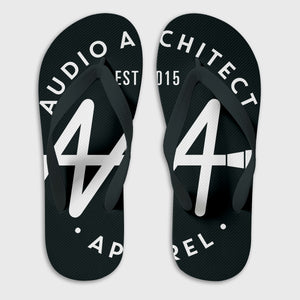 Brandmark Flip-Flops | Audio Architect Apparel