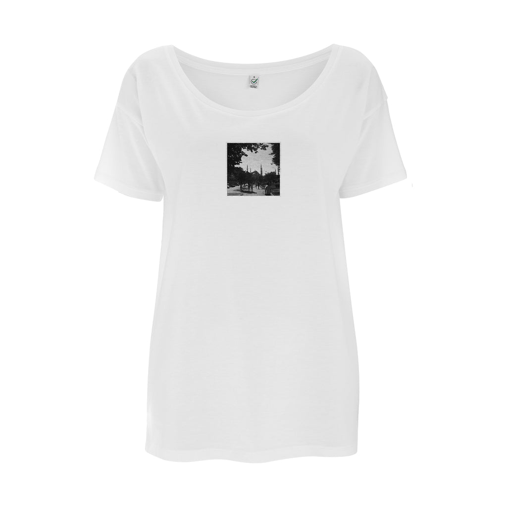 Womens Golden Horn T-Shirt | Audio Architect Apparel