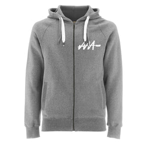 Graffiti Tag Zip-Up Hoodie | Audio Architect Apparel