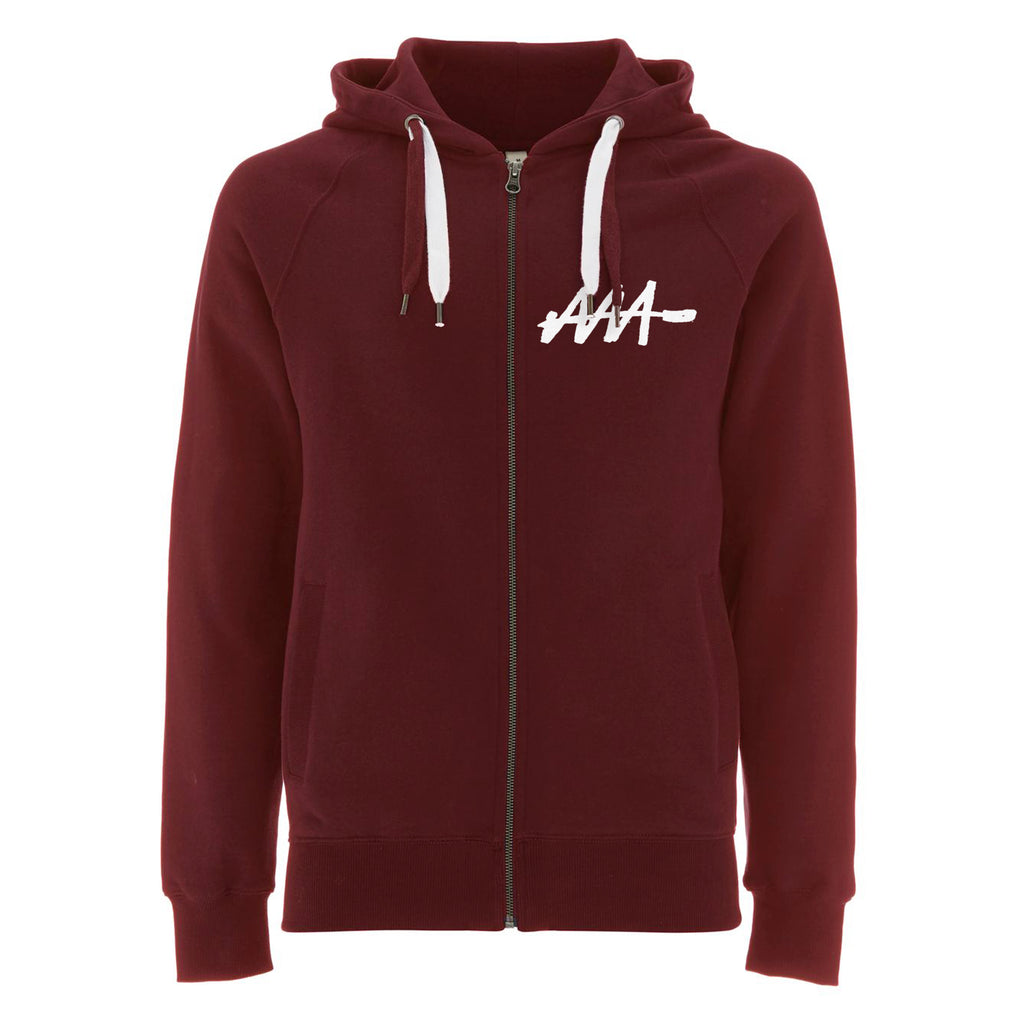 Graffiti Tag Zip-Up Hoodie - Audio Architect Apparel