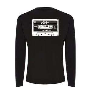 Mens MixTape Rewind Long-Sleeve T-Shirt | Audio Architect Apparel