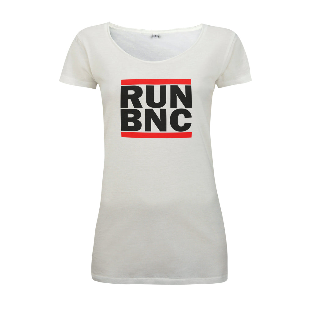 Womens RUN BNC T-Shirt | Audio Architect Apparel