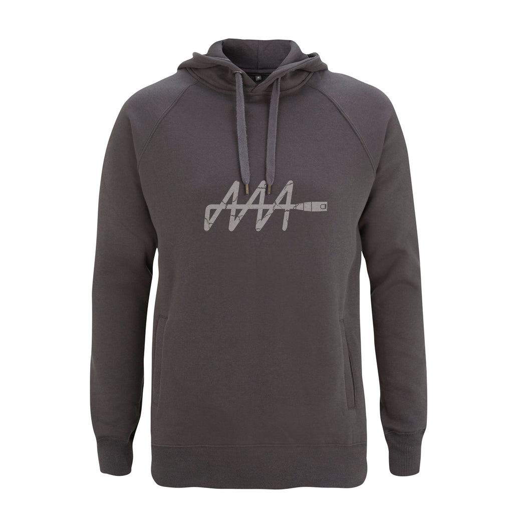 LIMITED EDITION: Cracked Ink Signature Logo Hoodie | Audio Architect Apparel
