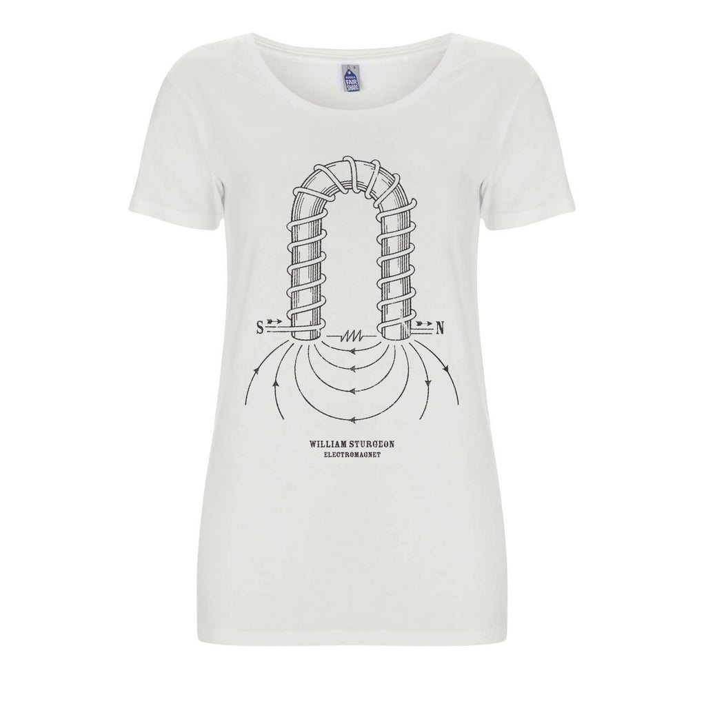 Womens MKI Sturgeon Organic T-Shirt | Audio Architect Apparel