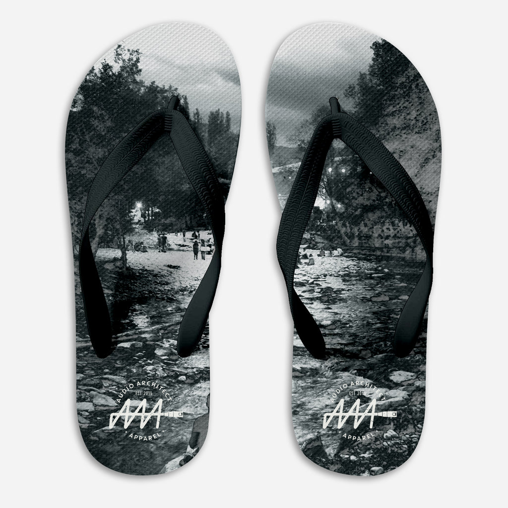 Take Me To The River Flip-Flops | Audio Architect Apparel