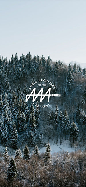 Winter Wonderland Phone Wallpaper - Audio Architect Apparel