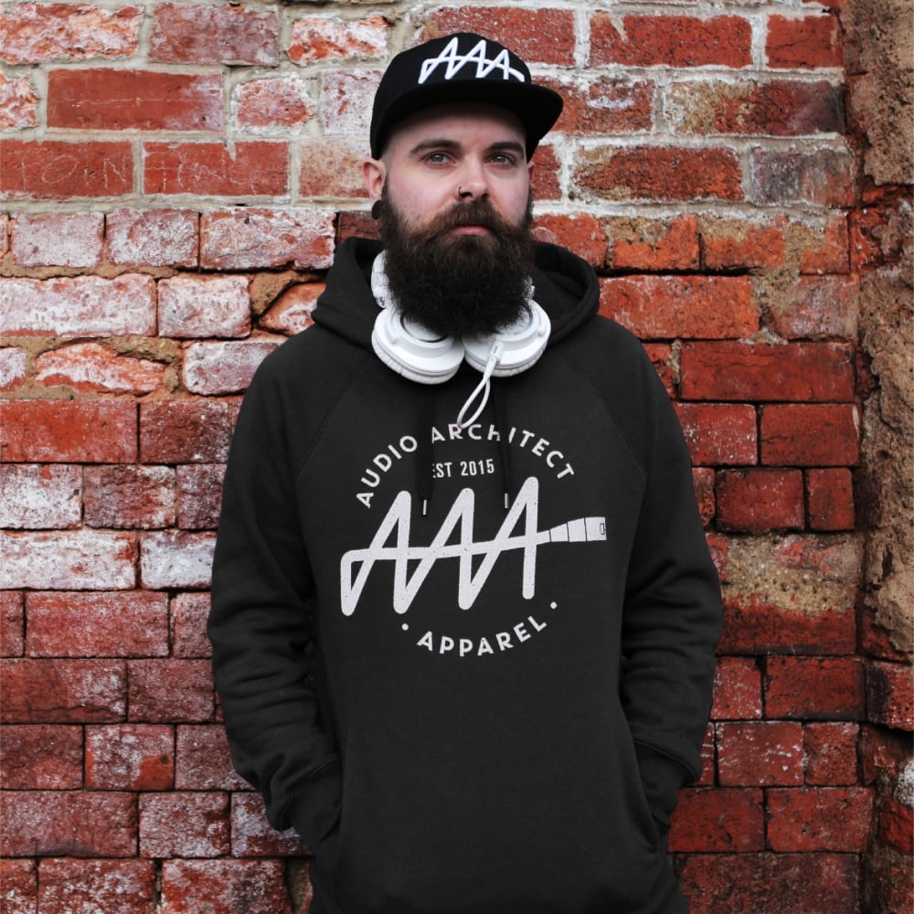 Brandmark Logo MKI Hoodie | Audio Architect Apparel