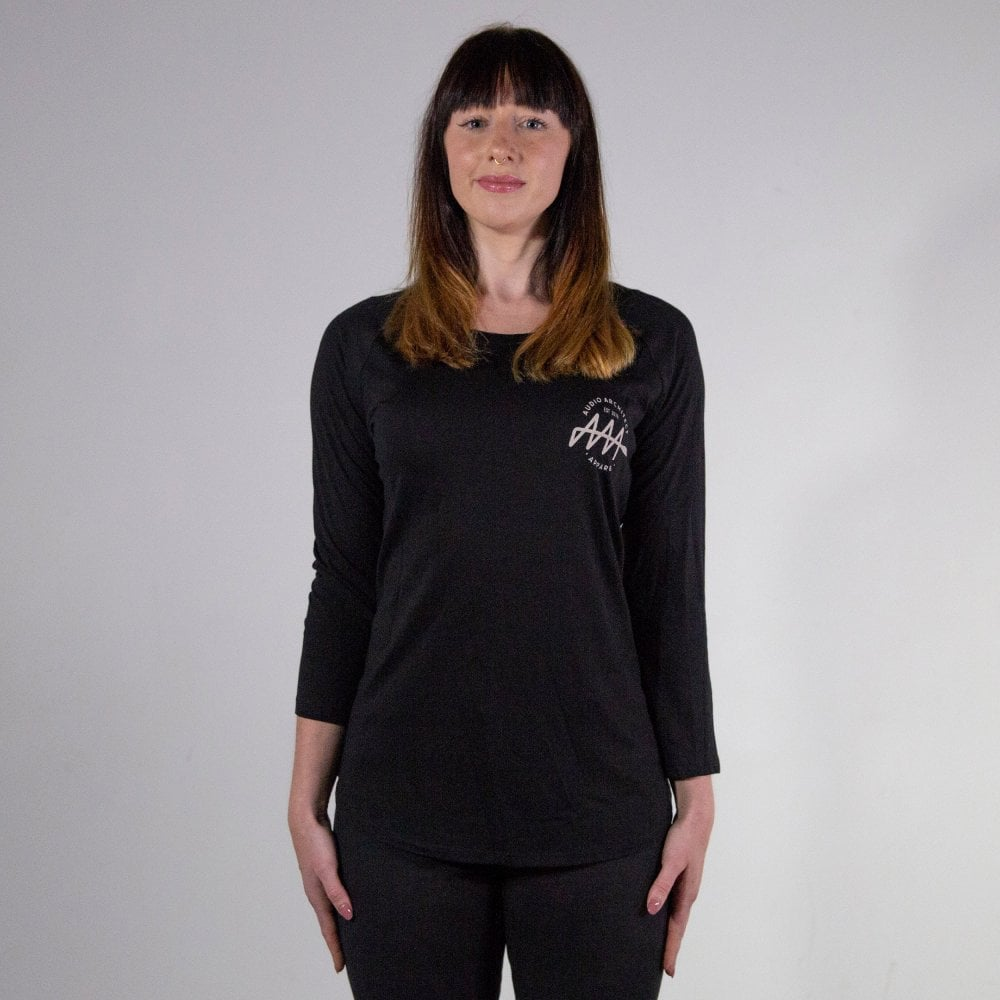 Women's Brandmark 100% Organic Long Sleeve Tencel T-Shirt | Audio Architect Apparel