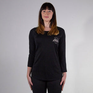 Women's Brandmark 100% Organic Long Sleeve Tencel T-Shirt - Audio Architect Apparel
