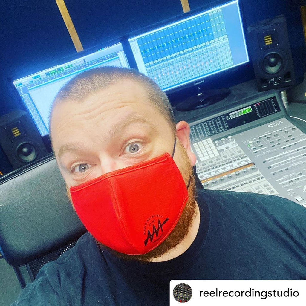 Reusable AAA Brandmark Face Mask - Audio Architect Apparel