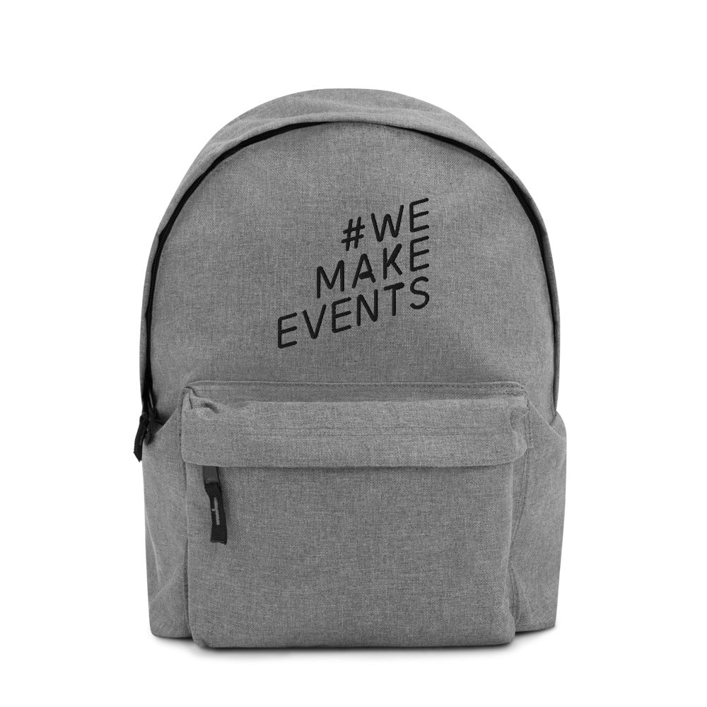 #WEMAKEEVENTS Charity Backpack