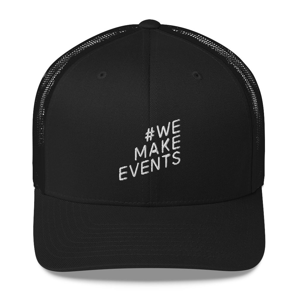 #WEMAKEEVENTS Trucker Charity Cap | Audio Architect Apparel