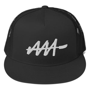 AAA Graffiti Tag Trucker Cap | Audio Architect Apparel