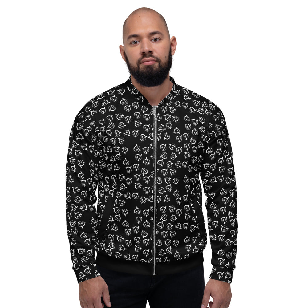 Men's Warriors Bomber Jacket - Audio Architect Apparel