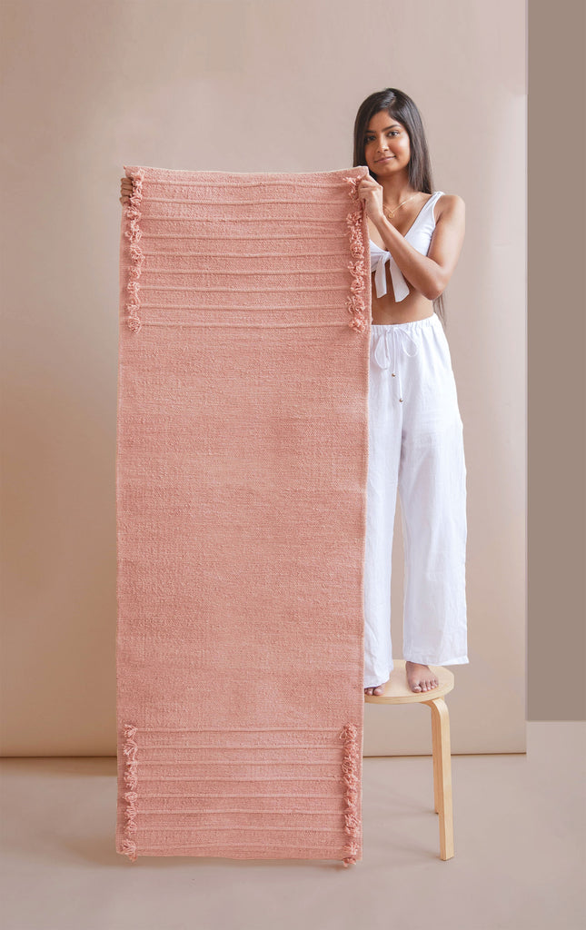 Rose Quartz - Herbal Yoga Mat