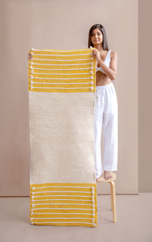 Citrine & Cream - Herbal Yoga Mat