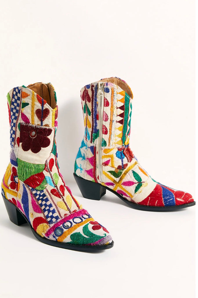 SUNNY DAYS ANKLE BOOTS FREE PEOPLE MOMO NEW YORK