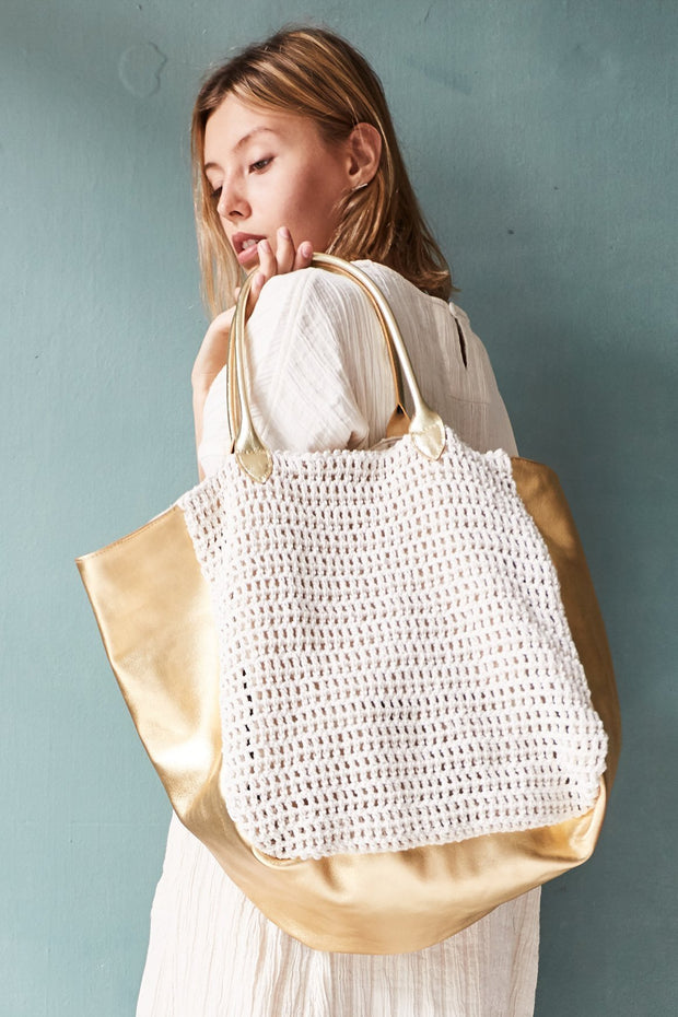 ACE BAG HAND CROCHET MOMONEWYORK