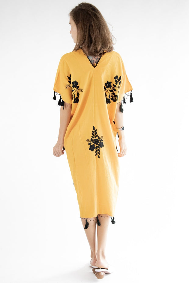 Back To The Beach Summer Kaftan Dress Demi MOMONEWYORK