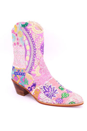 BOOTS GINALYN (PINK) - MOMO NEW YORK