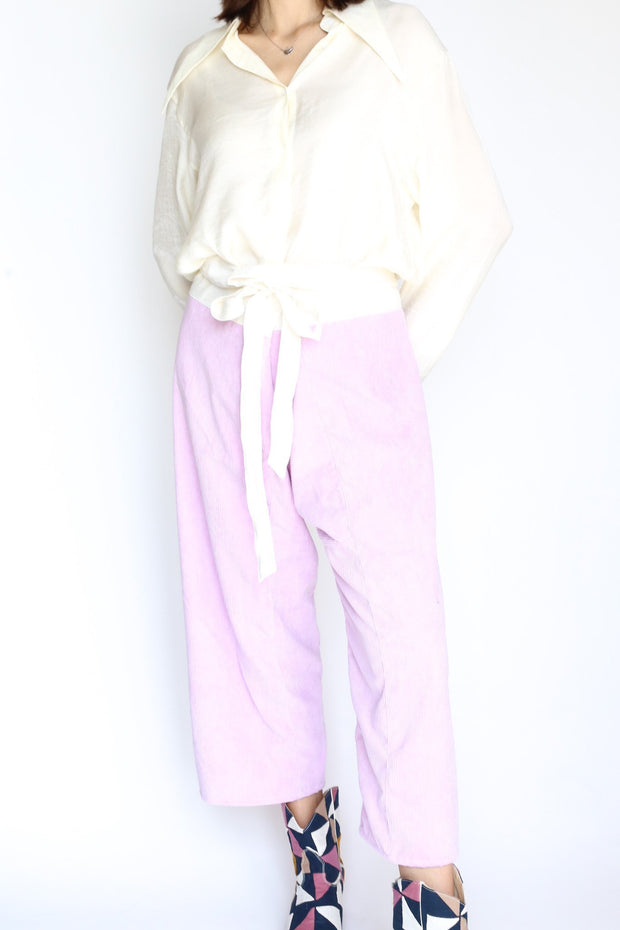 CORDUROY FISHERMAN PANTS TROUSERS - MOMO NEW YORK