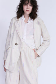 Cotton / Linen Suit Juliette MOMONEWYORK