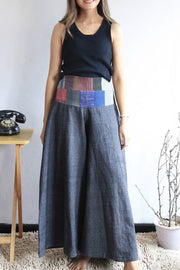 COTTON PANTS CASSY MOMO NEW YORK