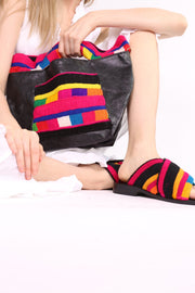 CROSS SHOULDER CLUTCH BAG CINDY - MOMO NEW YORK