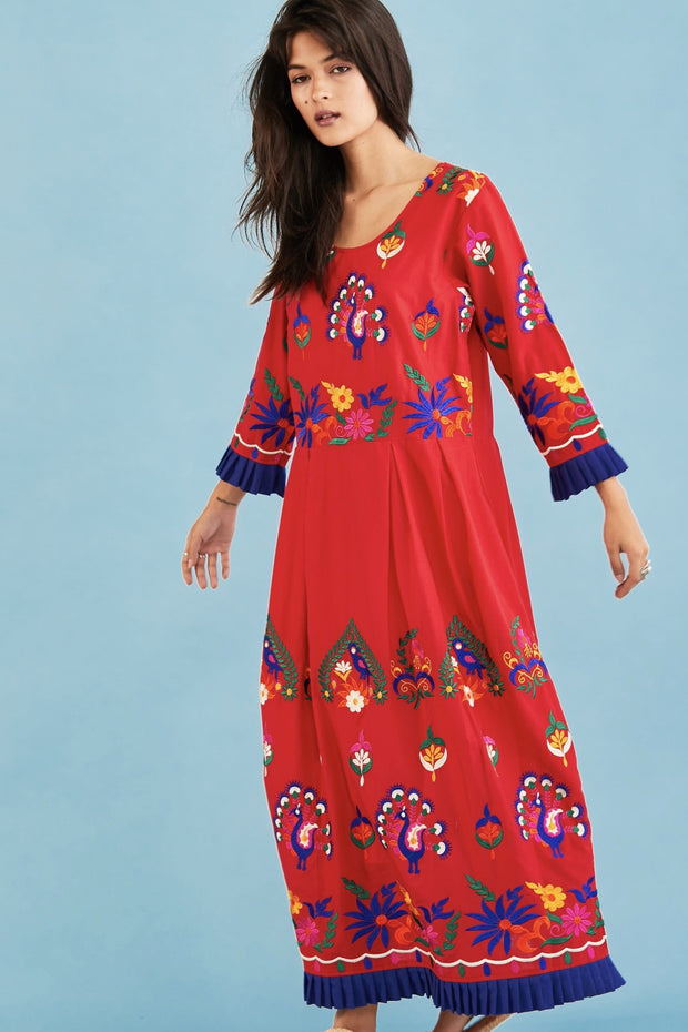 EMBROIDERED DRESS NELI MOMO NEW YORK