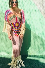 Embroidered Kaftan Lulu MOMONEWYORK