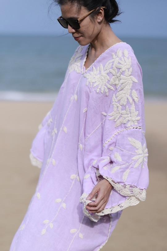 EMBROIDERED KAFTAN NATALIE MOMO NEW YORK