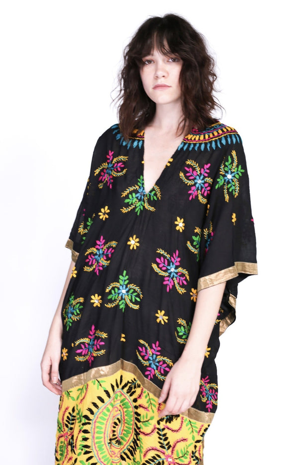 EMBROIDERED KAFTAN TILO MOMO NEW YORK