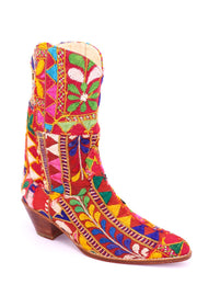 EMBROIDERED PATCHWORK BOOTS SAMSARA - MOMO NEW YORK