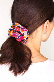 EMBROIDERED SCRUNCHIE FIONA - MOMO NEW YORK