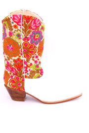 EMBROIDERED WESTERN BOOTS SAMIRA MOMO NEW YORK