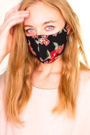 FACE MASK AUSTIN (BLACK) - MOMO NEW YORK