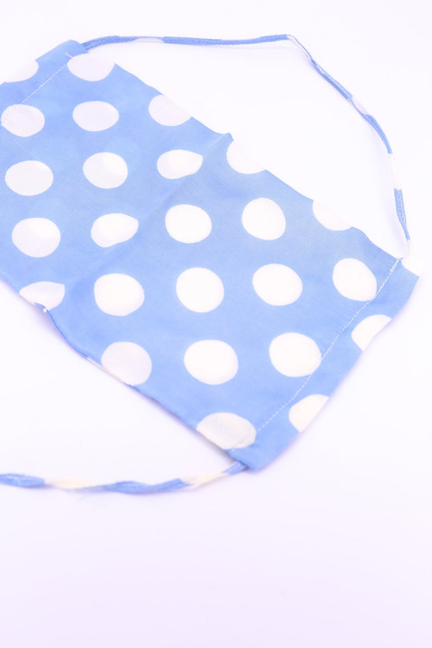 FACE MASK MODAL SILK POLKA DOT FAH MOMO NEW YORK