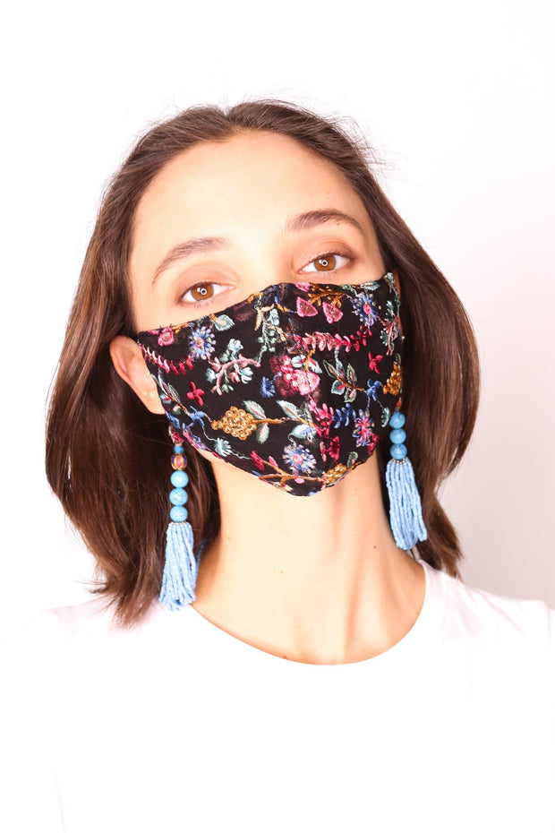 FACE MASK NECKLACE HOLDER ARABELLA - MOMO NEW YORK