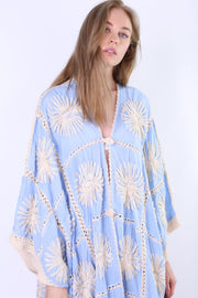 FLORA CROCHET KIMONO X FREE PEOPLE MOMO NEW YORK