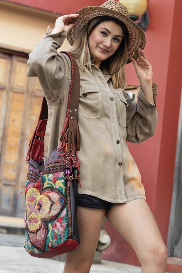 GYPSY BOHO HOBO BAG JANA - MOMO NEW YORK
