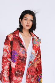 Hand Embroidered Patchwork Jacket Frida MOMONEWYORK