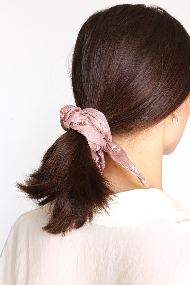SILK/ COTTON SCRUNCHIE SUSU AYRE